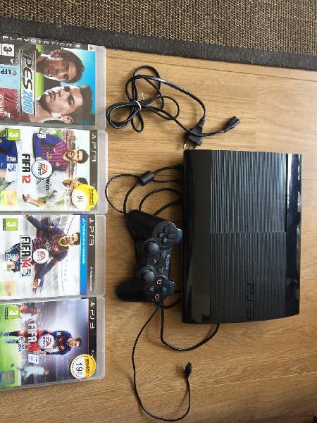 Play station 3 slim 480 gb