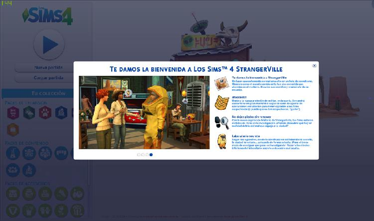 Sims 4 expansiones + strangerville