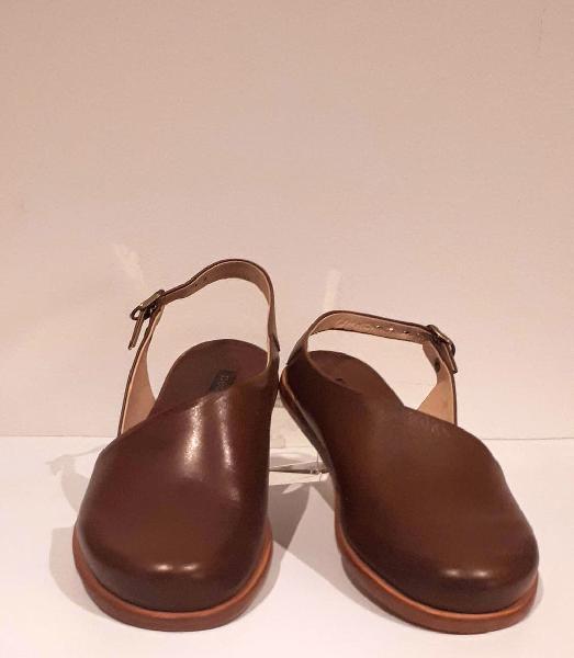 Sandalias mujer marrones t.37