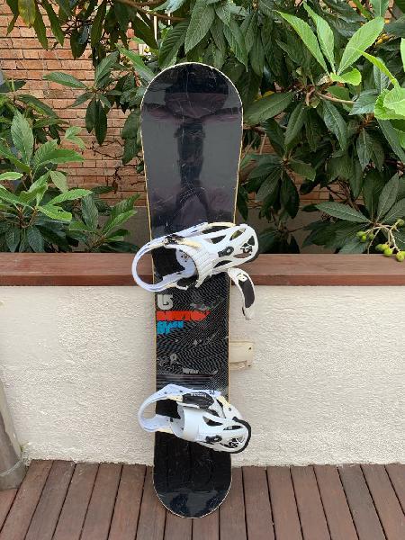 Snowboard burton clash + funda