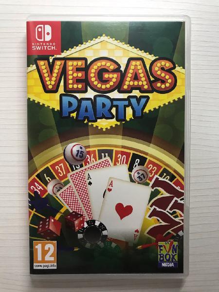 Vegas party nintendo switch