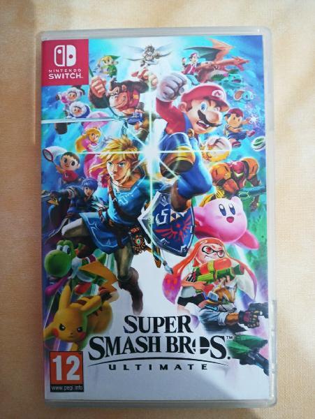Vendo super smash bros ultimate nintendo switch