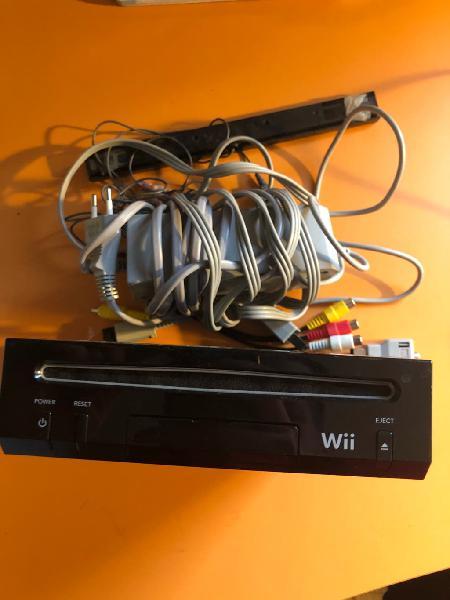 Wii negra + accesorios