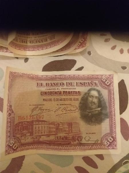 Cincuenta pesetas 1928