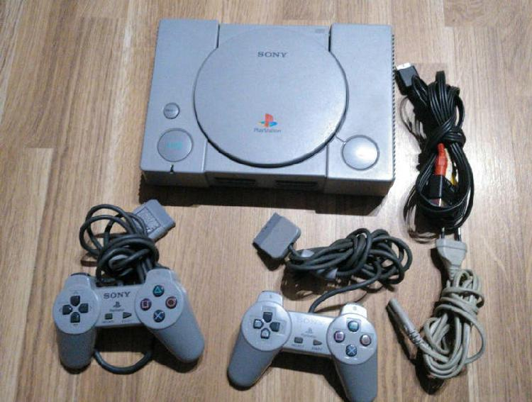 Consola ps1 completa orginal sony