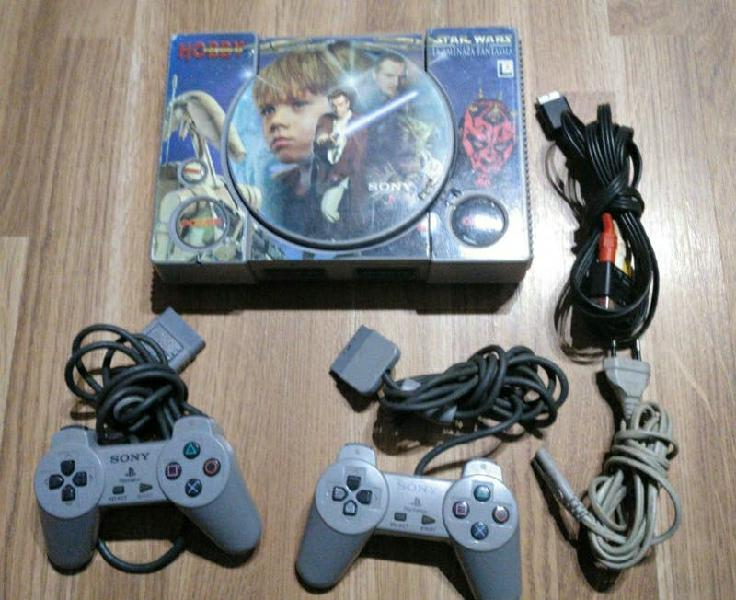 Consola ps1 completa star wars sony