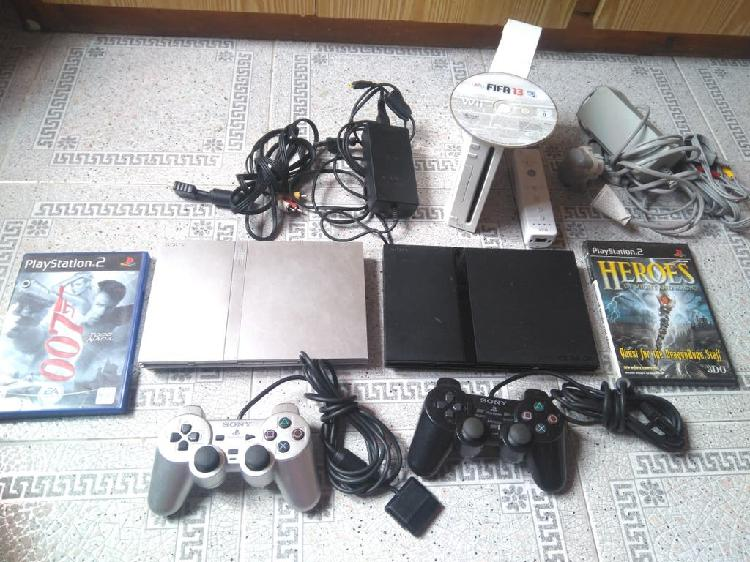 Consolas ps2, wii