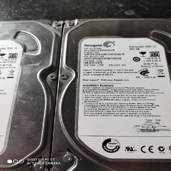 Disco duro 250gb