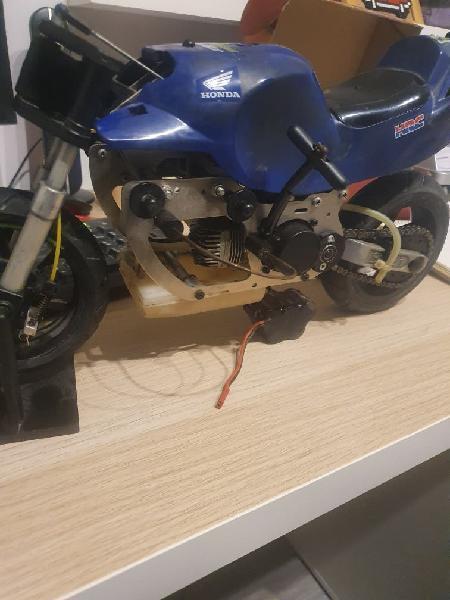 Moto de radiocontrol gasolina