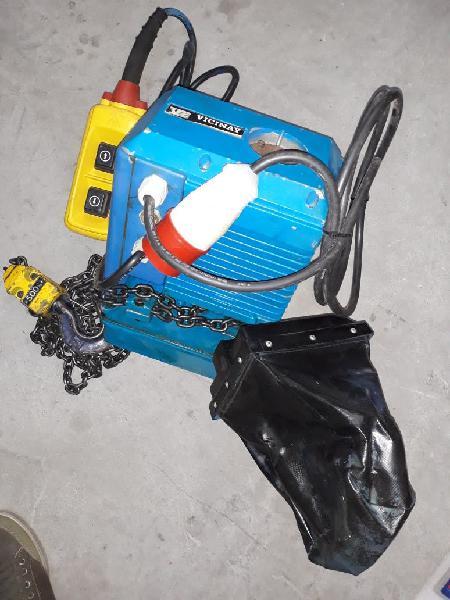 Polipasto eléctrico de cadena vicinay 500 kg