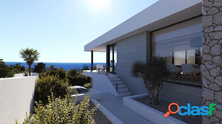 Lujoso chalet en venta de diseño moderno ibiza style en costa blanca alicante gv5099a