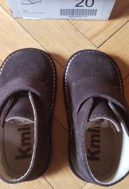 Botitas nuevas y botas agua(num 20)