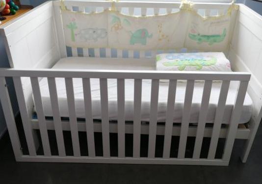 Cuna cama santiago (babies r us) colchón