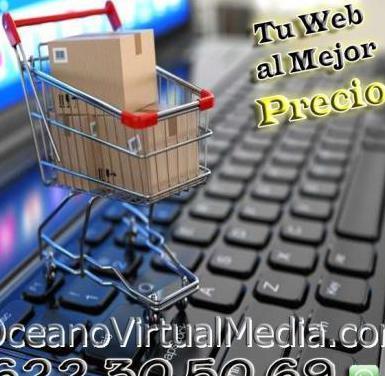 Diseño profesional de paginas webs