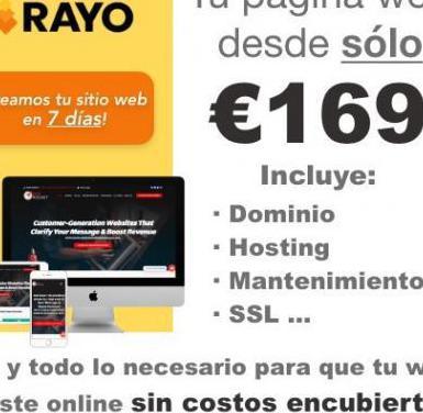 Diseño páginas web económicas