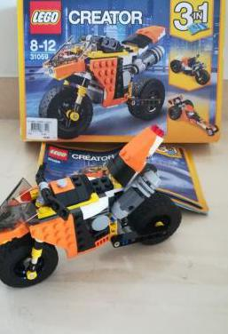 Lego kreator sunset street bike 31059