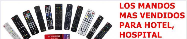 Mandos a distancia televisión