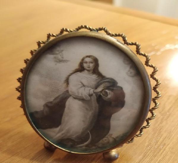 Porta retratos inmaculada concepción