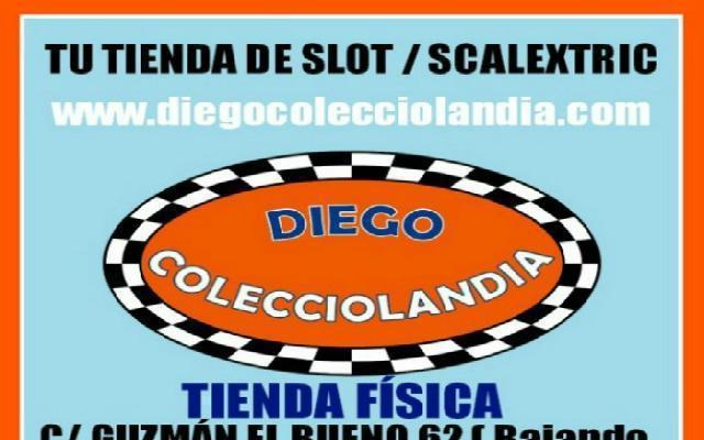 Tienda scalextric madrid diego colecciolandia - madrid