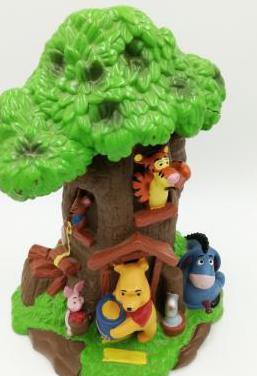 Hucha winnie the pooh bullyland pintada a mano