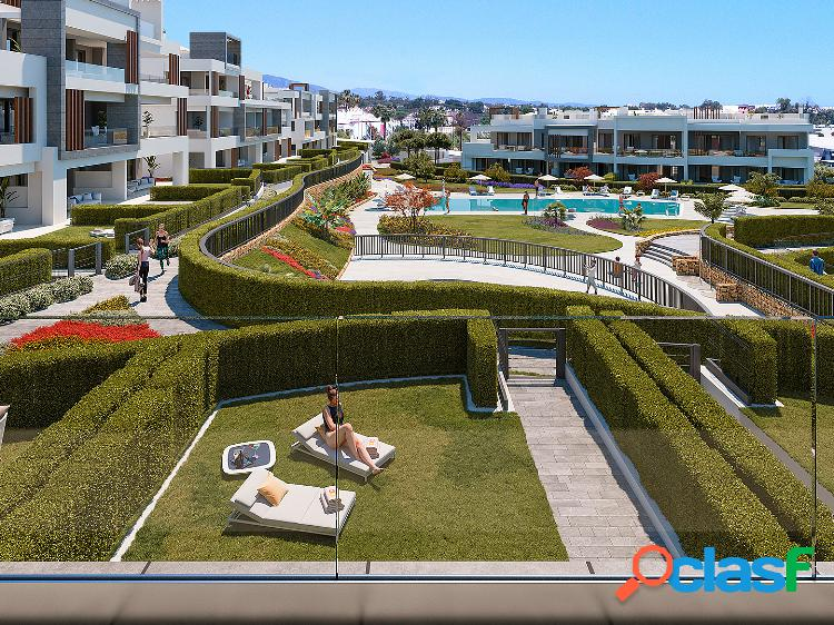Apartamentos de obra nueva en venta en the new golden mil, estepona, málaga