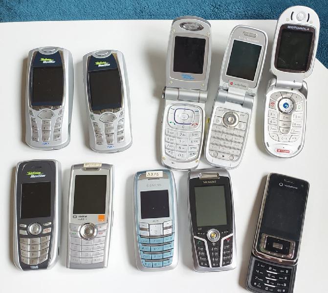 15€ cada uno. varios móviles con batería pero no c
