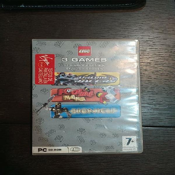 3 juegos lego pc
