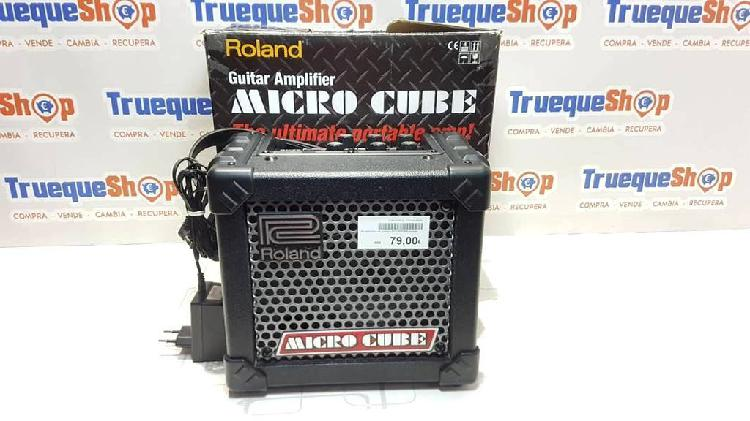 Amplificador de guitarra roland microcube