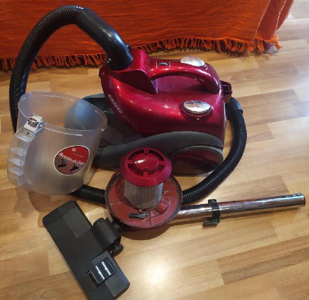 Aspiradora sin bolsa sirocco hepa air filter