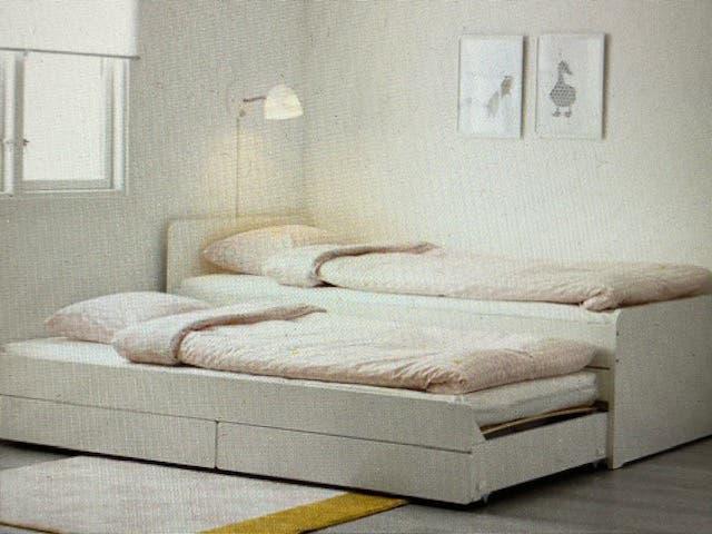 Cama nido slakt de ikea - 2 camas en una