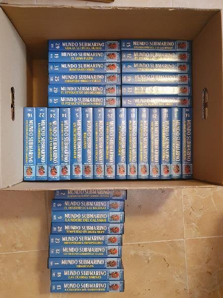 Colección completa jacques cousteau
