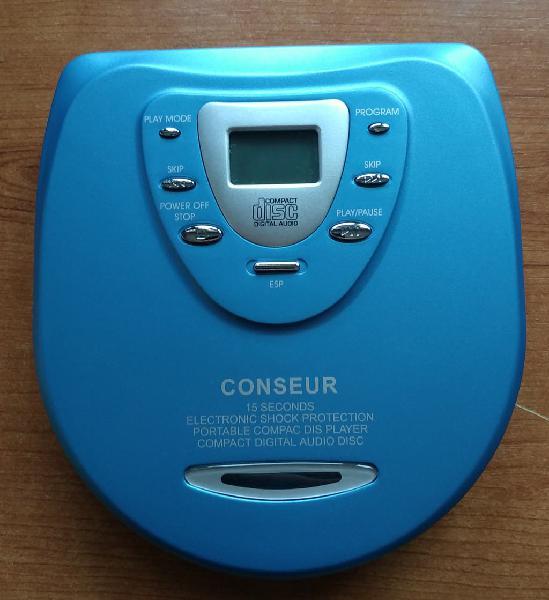 Compac disc portatil