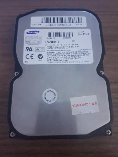 Disco duro ide/ata 20,4gb