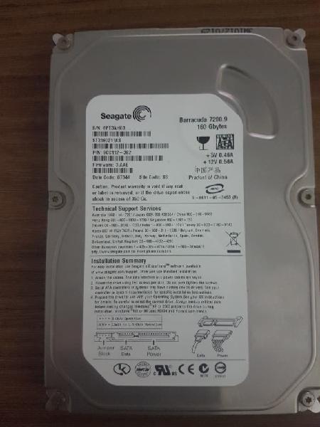 Disco duro sata 160gb