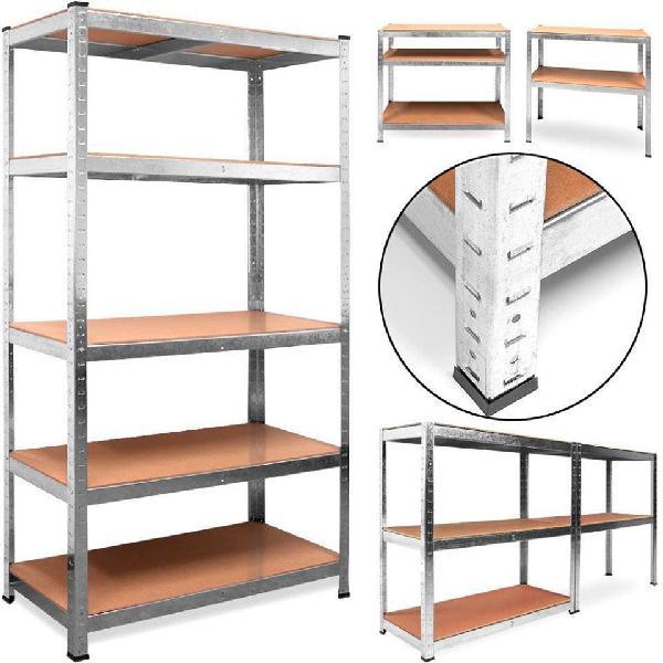 Estanteria metalica galvanizada 875kg 5 baldas 18