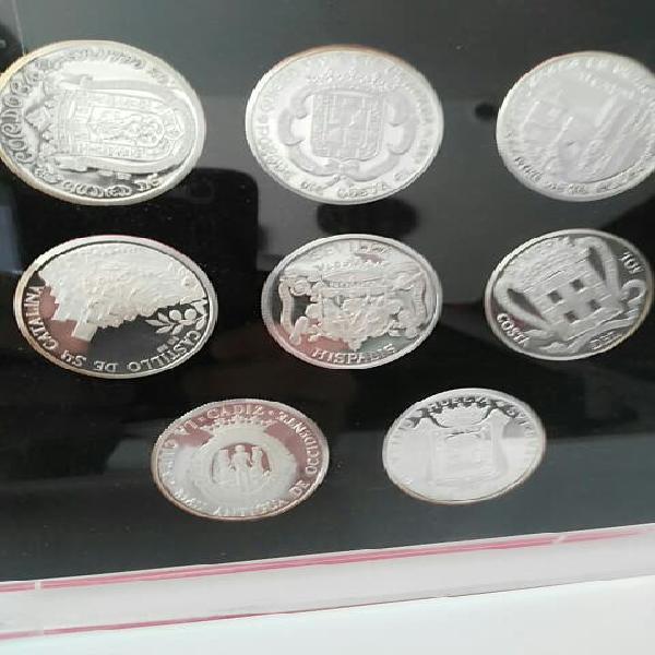 Estuche monedas andalucía