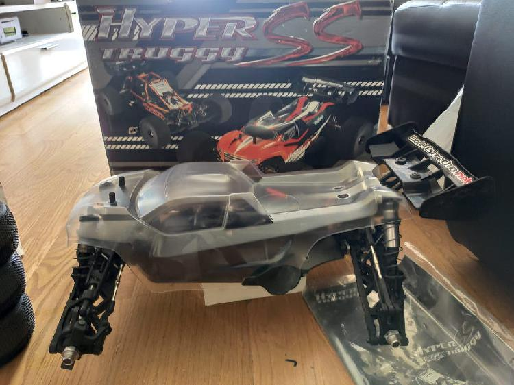 Hobao hyper ss brushless truggy 1/8 150a max8