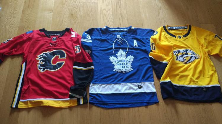 Hockey nhl varias camisetas nuevas