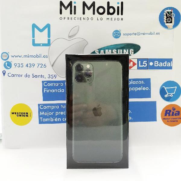Iphone 11 pro max 64gb midnight green verde sellad