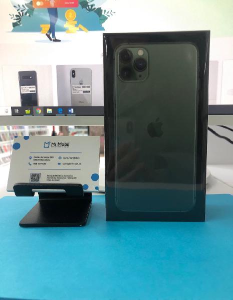 Iphone 11 pro max 64gb verde nuevo precintado