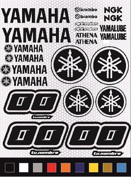 Kit pegatinas universal yamaha