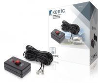 Knig control a distancia con cable de 5 m, para conectar a