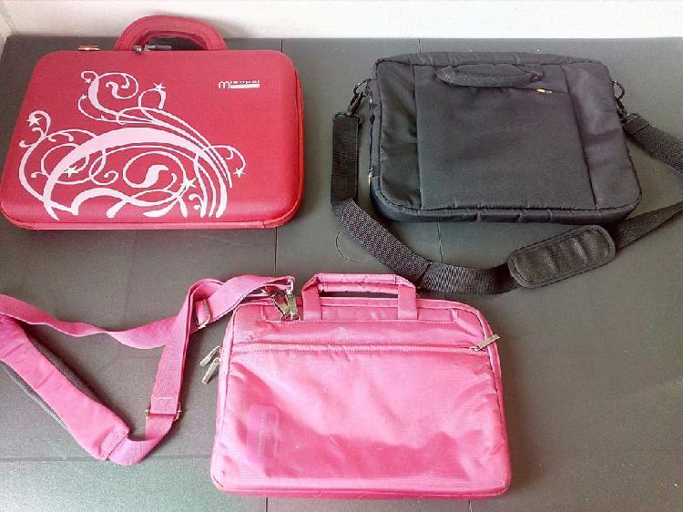 Lote tres maletines para portátil por tan sólo 10€