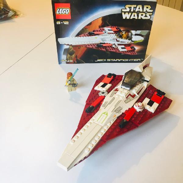 Lego star wars 7143 jedi starfighter