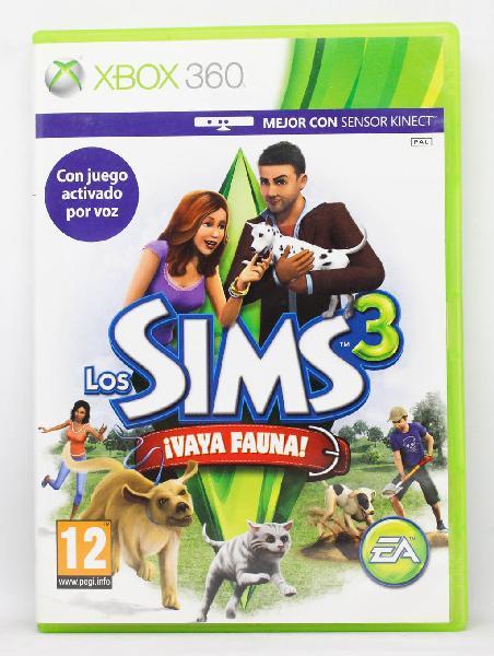 Los Sims 3 Vaya Fauna XBOX 360 PAL España