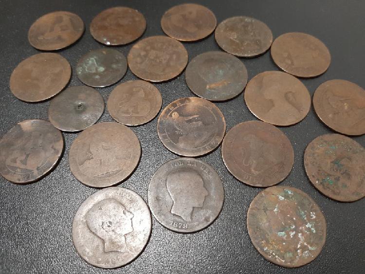 Lote monedas españolas antiguas