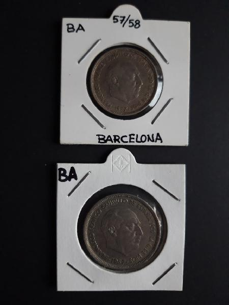 Monedas 1957 serie ba
