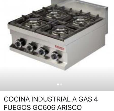 Nueva - cocina 4 fuegos 60x60 arisco