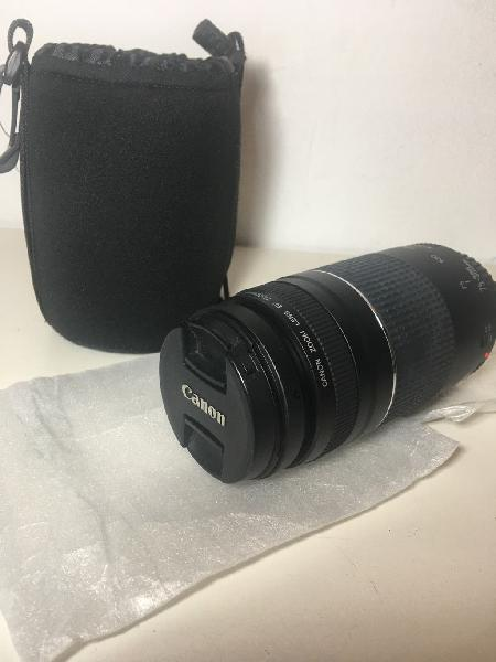 Objetivo para canon 75-300 mm nuevo