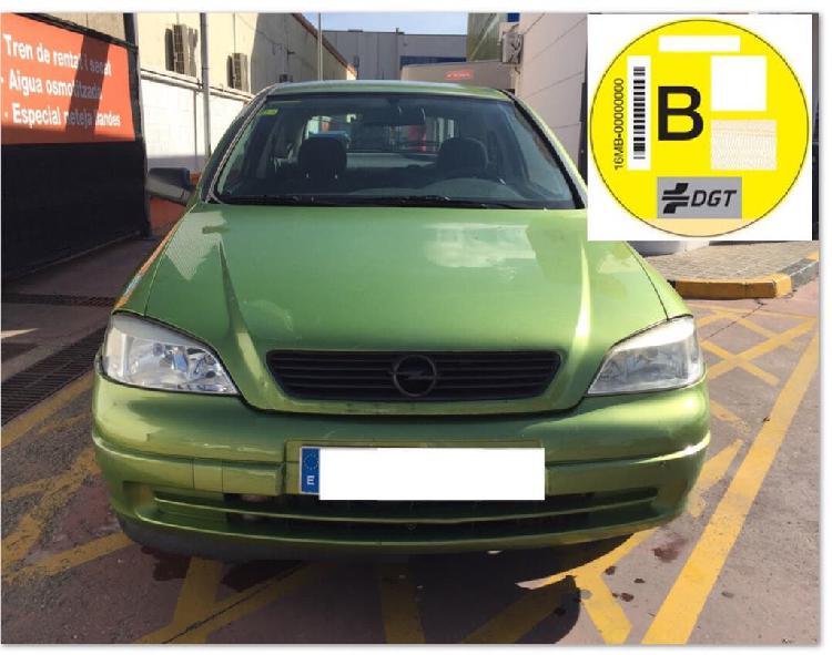 Opel astra 1.6 gasolina 2002 pegatina b